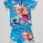 ชุดว่ายน้ำ เสื้อ+กางเกงขาสั้น ลาย Frozen สีฟ้า size : M (3-4y) thumbnail 2