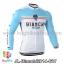 เสื้อจักรยานแขนยาวทีม Bianchi 14 สีเขียวขาว thumbnail 1