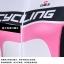 ชุดจักรยานผู้หญิงแขนสั้นขาสั้น CheJi 14 (06) สีขาวชมพูดำ สั่งจอง (Pre-order) thumbnail 13