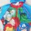 Marvel : ชุดว่ายน้ำบอดี้สูทลาย Assemble สีฟ้า ซิปหน้า พร้อมหมวกและ ถุงผ้า Size : XS (3-4y) thumbnail 3