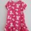 Carter's : ชุดนอน ผ้า cotton ยืด สีชมพู ลายแมว Size : 12m / 18m / 2T thumbnail 1