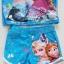 ชุดว่ายน้ำ เสื้อ+กางเกงขาสั้น ลาย Frozen สีฟ้า size : M (3-4y) thumbnail 3