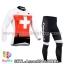 ชุดจักรยานแขนยาวทีม Assos 14 สีขาวแดง thumbnail 1