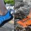 รองเท้าเดินป่าขี่จักรยาน Octopus สีเทา thumbnail 6
