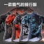 เสื้อจักรยานแขนสั้น Cyclingbox สี่สัตว์เทพ สีดำแดงลายงู สั่งจอง (Pre-order) thumbnail 4