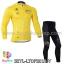 ชุดจักรยานแขนยาว Le tour de france 14 สีเหลือง สั่งจอง (Pre-order) thumbnail 1