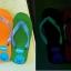 รองเท้าแตะเรืองแสง Happy thumbnail 5