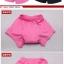กางเกงจักรยาน Boxer VeoBike กางเกงสีดำ เป้าเจลสีชมพู เป้าสำหรับผู้หญิง thumbnail 3
