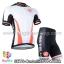 ชุดจักรยานแขนสั้นทีม Castelli 14 สีขาวแดงดำ