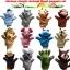 หุ่นมือ ชุด สัตว์แอฟริกา แพ็คละ 5 ตัว thumbnail 2