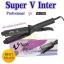 เครื่องหนีบผม ยี่ห้อ super V inter รุ่น Ionic hair - flatter SU 288 แบบมีฟัน ขนาดแผ่นรีด 1.7 นิ้ว thumbnail 1