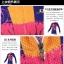 ชุดจักรยานผู้หญิงแขนยาวขายาว CheJi 15 (09) สีน้ำเงินลาย Rose Kiss thumbnail 17