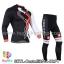 ชุดจักรยานแขนยาวทีม Castelli 14 สีดำลายขาวแดงเทา สั่งจอง (Pre-order) thumbnail 1
