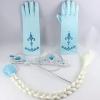 ชุดเด็ก : ชุดเซ็ต เปียผม คฑา และมงกุฎ +ถุงมือ