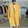 เสื้อโค้ทยาว โค้ทยาวสไตล์เกาหลี มี 2 สี เหลือง ชมพู