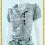 1686ชุดเดรสทำงาน เสื้อผ้าคนอ้วนพิมพ์ลายสก็อตเทาทรงต่อเอวต่ำกระเป๋าล้วงสไตล์สปอร์ต โดดเด่นคอตลบบัวเอียงข้าง thumbnail 2