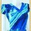 1592ชุดทํางาน เสื้อผ้าคนอ้วนคอวีแขนฟิลิปปินส์สีกลีบบัวลวดลายกราฟฟิคแต่งโบสไตล์หวานกระโปรงทรงเอย้วยเล็กน้อย thumbnail 3