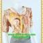 2438ชุดทํางาน เสื้อผ้าคนอ้วนลายพริ้นท์พรางสรีระไม่เน้นจุดสนใจคอผูกโบสไตล์สุภาพ เรียบร้อย มีซับใน thumbnail 2