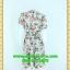 2434เสื้อผ้าคนอ้วน ชุดทำงานสีเทาผ้าไหมอิตาลี่กระโปรงย้วยหวาน ปกฮาวายภูมิฐานแขนตุ๊กตาและโชว์กุ๊นขาวในการเย็บเกล็ดทรงและฝากระเป๋าเพิ่มดีเทล thumbnail 4