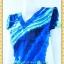 1592ชุดทํางาน เสื้อผ้าคนอ้วนคอวีแขนฟิลิปปินส์สีกลีบบัวลวดลายกราฟฟิคแต่งโบสไตล์หวานกระโปรงทรงเอย้วยเล็กน้อย thumbnail 2