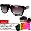 แว่นตา แว่นกันแดด UV400 Wayfarrer Pixel กรอบดำ thumbnail 1