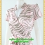 3064ชุดเสื้อผ้าคนอ้วน ชุดทำงานคอจีนลายกราฟฟิคชมพูสไตล์เปรี้ยวหรูไฮโซชุดคอจีนป้ายสำเร็จเก็บทรงเนี๊ยบสุด thumbnail 3
