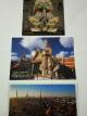 โปสการ์ดท่องเที่ยวไทย ชุด 3 ใบ 3 แบบ รูปยักษ์ และวัดโพธิ์