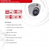 DS-2CE56D7T-ITM HD1080P WDR EXIR Turret Camera