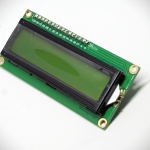 16x2 LCD (Green Screen) พร้อม I2C Interface