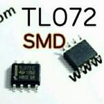 TL072 OP Amp SOP8-SMD