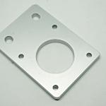 Aluminum plate for Nema17