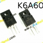 TK6A60 N MOS FET 6A/600V