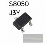 S8050 J3Y NPN-SMD