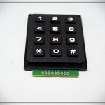 4 X 3 Matrix 12 Keys Keypad Module สำหรับ Arduino