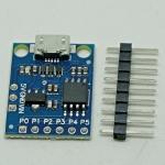 Attiny85 micro usb development board