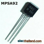 MPSA92 MPSA93 PNP transistor -300V/625mW