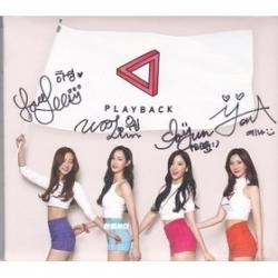 "[PRE-ORDER] Playback - 1st Single Album ""Playback"" + Autographed (มือ 2)"