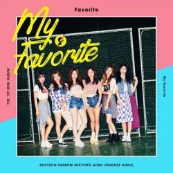 "[PRE-ORDER] FAVORITE - 1st Mini Album ""MY FAVORITE"""