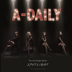 """[PRE-ORDER] A-DAILY - 2nd Single Album """"SPOTLIGHT"""""""