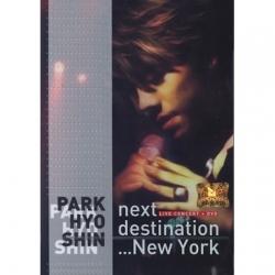 [PRE-ORDER] PARK HYO SHIN - Next Destination... New York Live Concert
