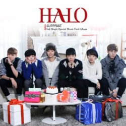 """[PRE-ORDER] HALO - 2nd Single Special Music Card Album """"SURPRISE"""""""