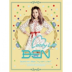 """[PRE-ORDER] Ben - 2nd Mini Album """"My Name Is Ben"""""""