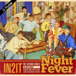 "[PRE-ORDER] IN2IT - 2nd Single Album ""INTO THE NIGHT FEVER"" (18:00 @ HOME Ver.)"