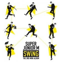 """[PRE-ORDER] Super Junior M - 3rd Mini Album """"Swing"""""""