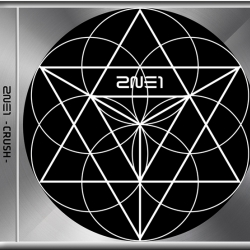 "[PRE-ORDER] 2NE1 - NEW ALBUM ""CRUSH"" (BLACK EDITION)"