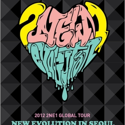 "[PRE-ORDER] 2NE1 - 2012 2NE1 Global Tour Live ""NEW EVOLUTION in SEOUL"" DVD (2Disc)"