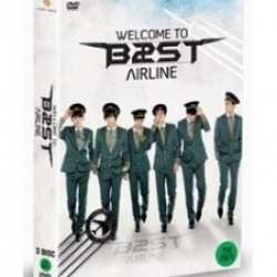 """[PRE-ORDER] BEAST - 1st Live Concert """"WELCOME TO B2ST AIRLINE"""" (3DVD)"""