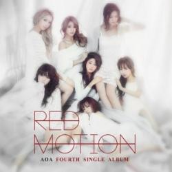 """[PRE-ORDER] AOA - 4th Single Album """"Red Motion"""""""