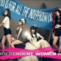 "[PRE-ORDER] miss A - 2nd Mini Album ""Independent Women Pt.III"" (The 5th Project)"