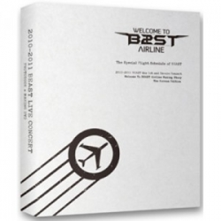 "[PRE-ORDER] BEAST - The 1st Concert Making Book ""Welcome To BEAST Airline"""